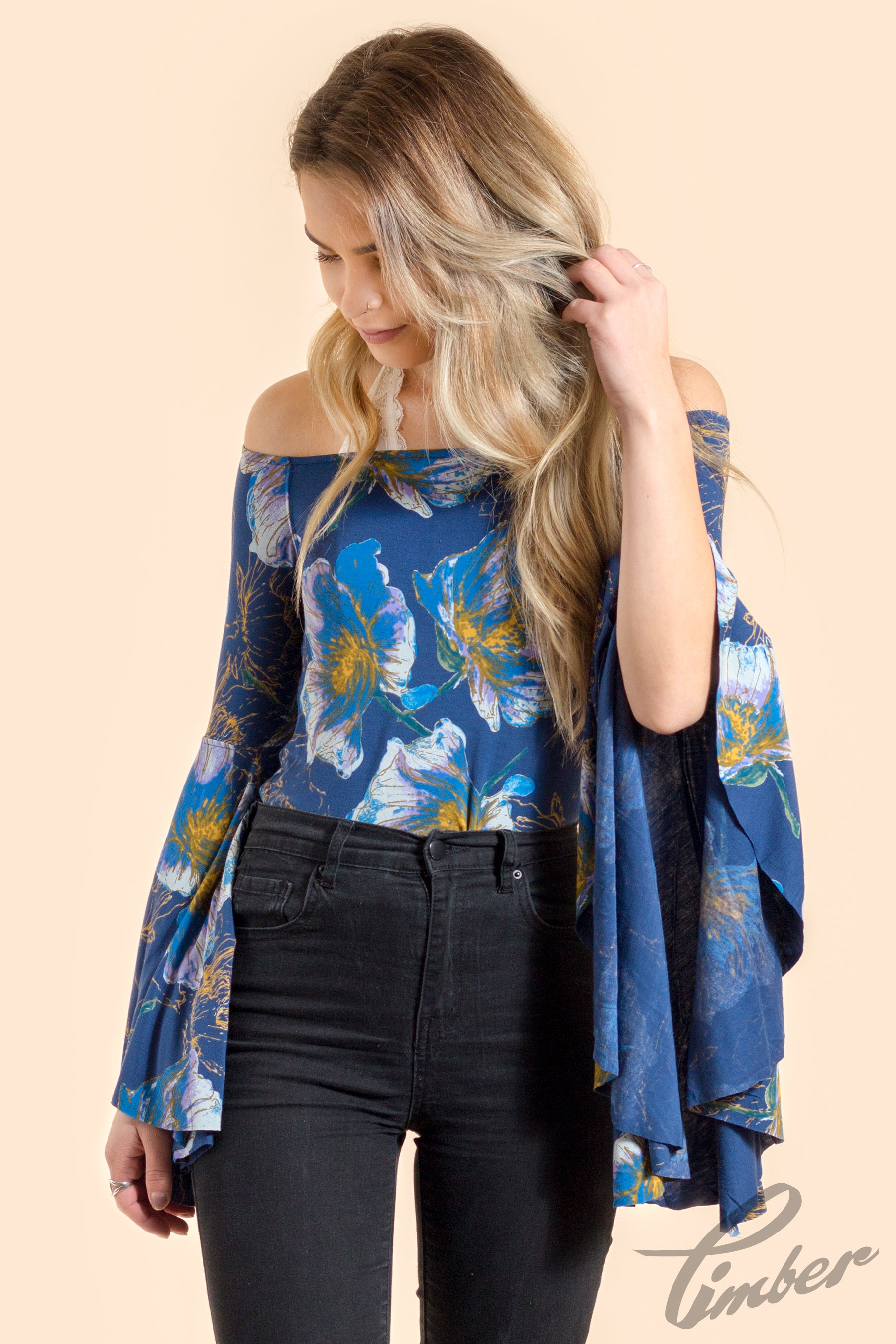Free People Printed Birds Of Paradise