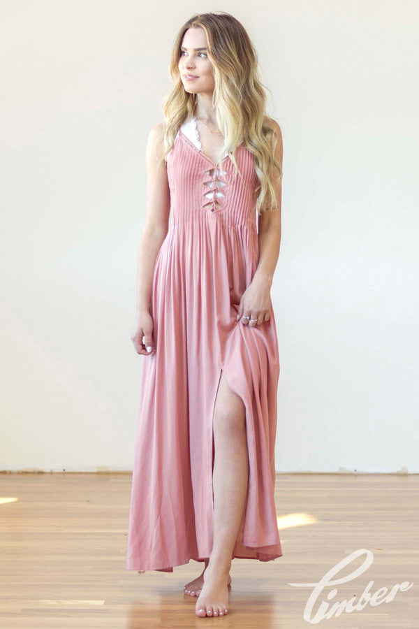 Lush Canyon Rose Maxi