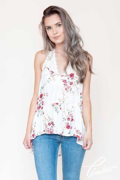 Lovestitch Ruffle Halter