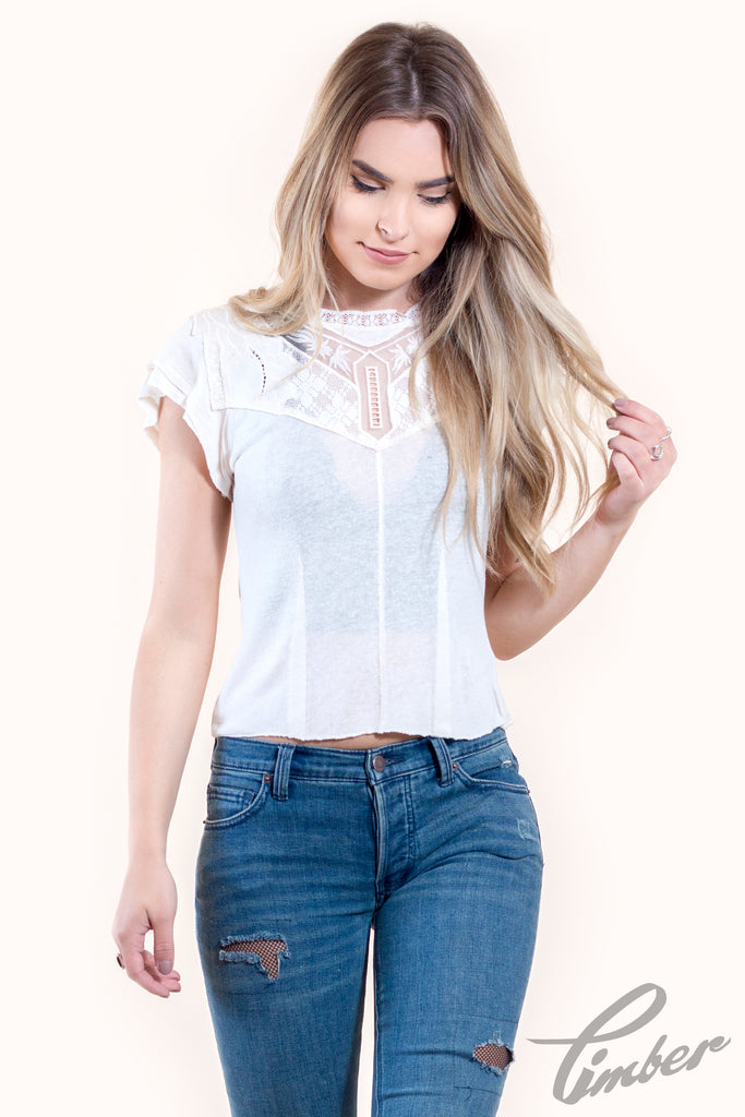 Free People Mariposa Tee