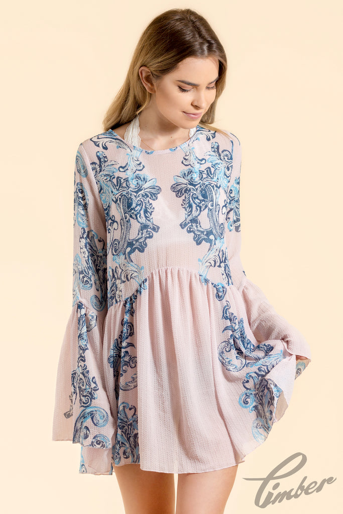 Free People Printed Symphony Slip | Timber Boutique