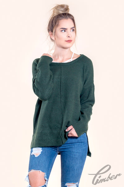 Olive & Oak Thick Knit Sweater