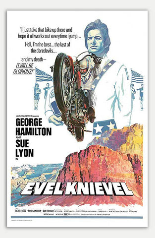 "Evel Knievel - 11"" x 17""  Movie Poster"