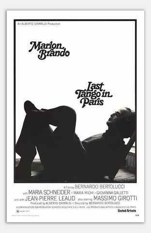 "Last Tango In Paris - 11"" x 17""  Movie Poster"