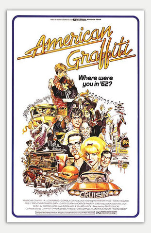 "American Graffiti - 11"" x 17""  Movie Poster"