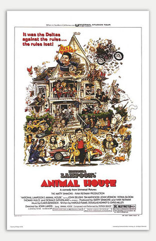 "Animal House - 11"" x 17""  Movie Poster"