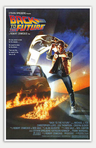 "Back To The Future - 11"" x 17""  Movie Poster"