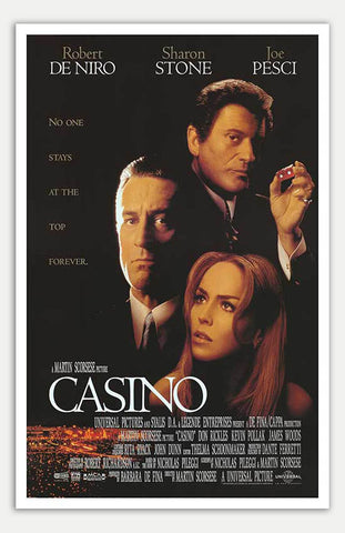 "Casino - 11"" x 17""  Movie Poster"