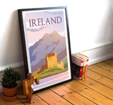"Ireland Travel Poster - 11"" x 17"" Poster"