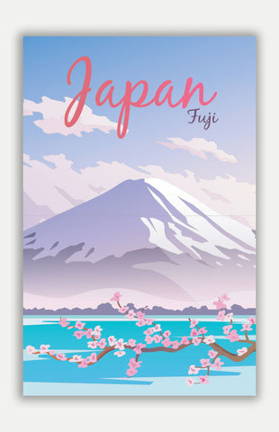 "Japan Travel Poster - 11"" x 17"" Poster"