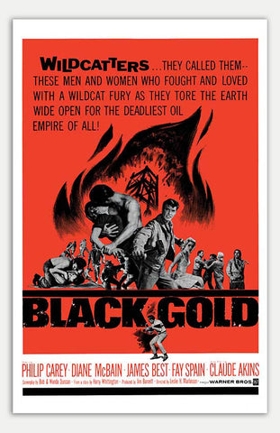 "Black Gold - 11"" x 17""  Movie Poster"