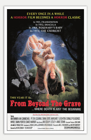"From Beyond The Grave - 11"" x 17""  Movie Poster"