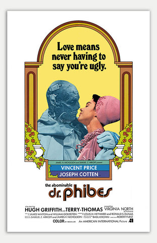 "Abominable Dr. Phibes - 11"" x 17""  Movie Poster"