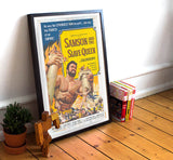 "Samson And The Slave Queen - 11"" x 17""  Movie Poster"