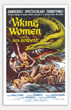 "Viking Women and the Sea Serpent - 11"" x 17""  Movie Poster"