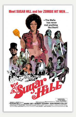 "Sugar Hill - 11"" x 17""  Movie Poster"