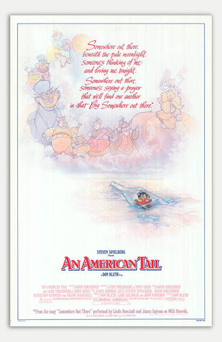 "American Tail - 11"" x 17""  Movie Poster"