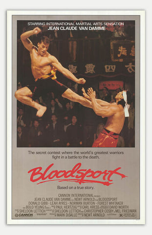 "Bloodsport - 11"" x 17""  Movie Poster"