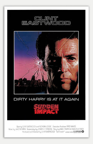 "Sudden Impact - 11"" x 17""  Movie Poster"