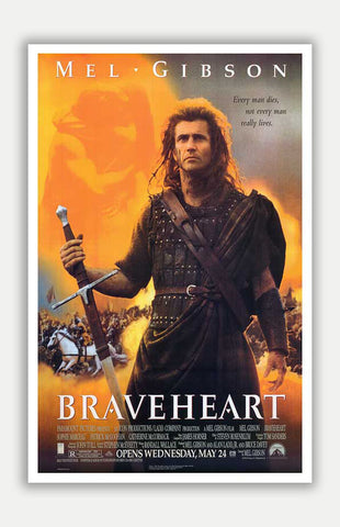 "Braveheart - 11"" x 17"" Movie Poster"