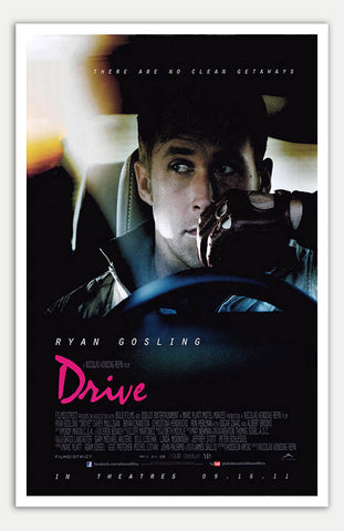 "Drive - 11"" x 17""  Movie Poster"