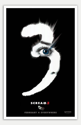 "Scream 3 - 11"" x 17""  Movie Poster"
