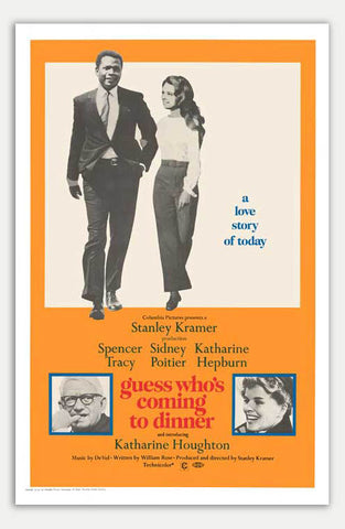 "Guess Who's Coming To Dinner - 11"" x 17""  Movie Poster"