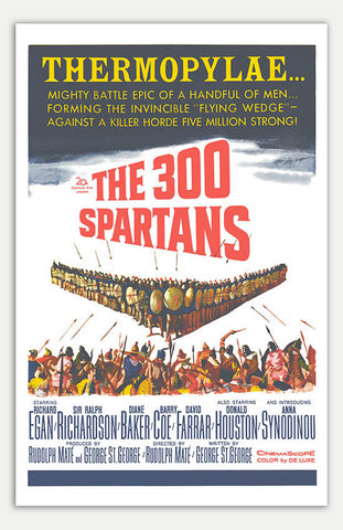 "300 Spartans - 11"" x 17""  Movie Poster"