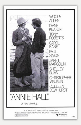 "Annie Hall - 11"" x 17""  Movie Poster"