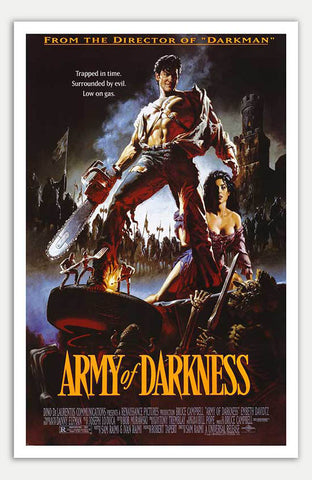 "Army Of Darkness - 11"" x 17""  Movie Poster"
