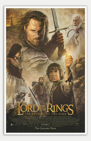 "Lord of the Rings: The Return of the King - 11"" x 17""  Movie Poster"