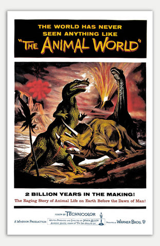 "Animal World - 11"" x 17""  Movie Poster"