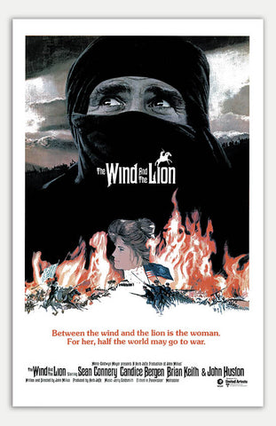 "Wind and the Lion - 11"" x 17""  Movie Poster"