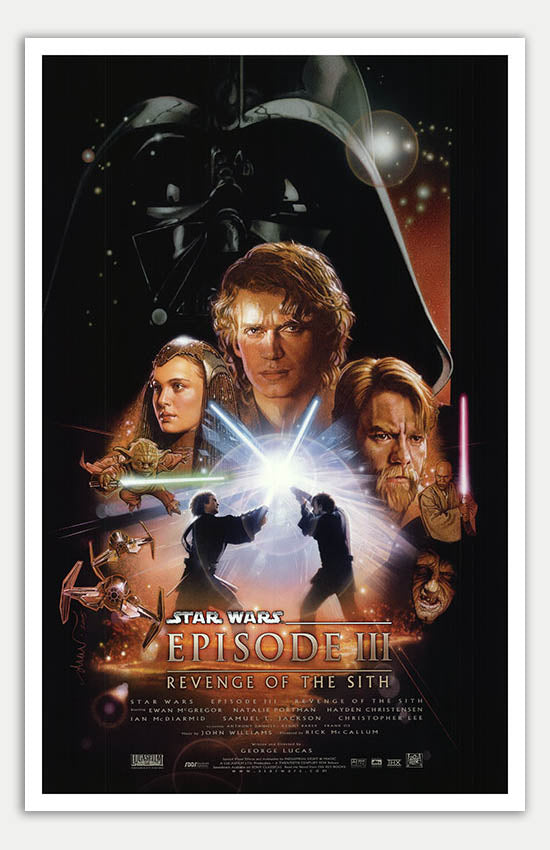 Star Wars Episode Iii Revenge Of The Sith 11 X 17 Movie Poster Mini Movie Posters
