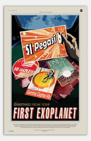 "Peg 51 - 11"" x 17""  Movie Poster"