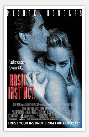 "Basic Instinct - 11"" x 17""  Movie Poster"