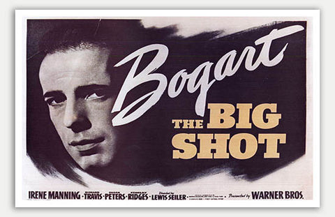 "Big Shot - 17"" x 11""  Movie Poster"