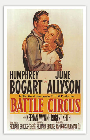 "Battle Circus - 11"" x 17""  Movie Poster"