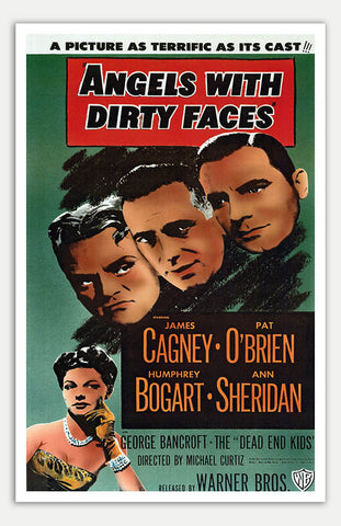"Angels with Dirty Faces - 11"" x 17""  Movie Poster"