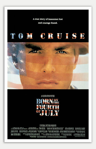 "Born On The Fourth Of July - 11"" x 17""  Movie Poster"