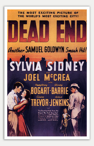 "Dead End - 11"" x 17""  Movie Poster"
