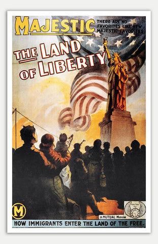 "Land Of Liberty - 11"" x 17""  Movie Poster"