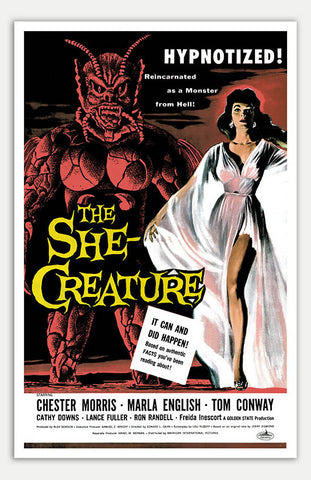 "She Creature - 11"" x 17""  Movie Poster"