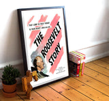"Roosevelt Story - 11"" x 17""  Movie Poster"