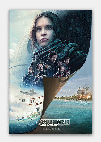 "Star Wars Rogue One - Double Sided 13""x19"" Movie Poster"