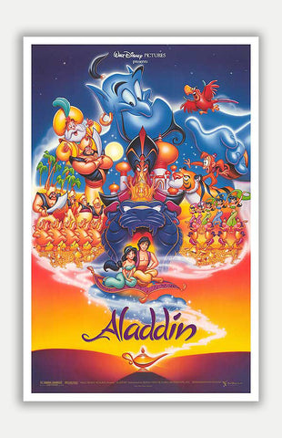 "Aladdin - 11"" x 17"" Movie Poster"
