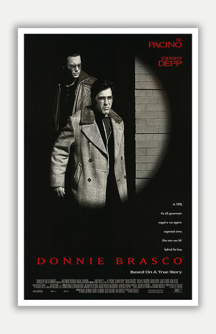 "Donnie Brasco - 11"" x 17"" Movie Poster"
