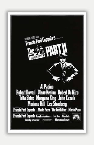 "Godfather: Part II - 11"" x 17"" Movie Poster"