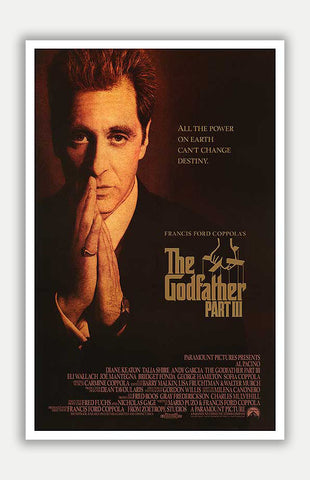 "Godfather: Part III - 11"" x 17"" Movie Poster"