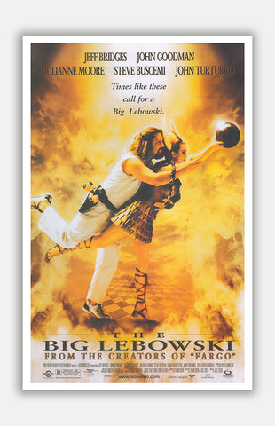 "Big Lebowski - 11"" x 17"" Movie Poster"